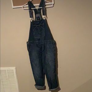Size large gap overalls
